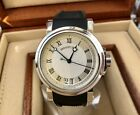 Breguet Marine Automatic Big Date 39mm Stainless 5817ST-Silver Dial -Box/Papers-