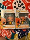 Funko POP Orange Bird Set Lot Of 2 Disney Parks Exclusives Original