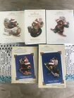 Hallmark Nick And Christopher Holliday Ornaments Lot Of 5