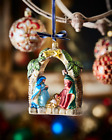 Neiman Marcus NWT Nativity Scene Christmas Ornament 73 w tax