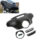 Matte Black Front Outer Fairing For Harley Tri CVO Street Electra Glide 14 18 US