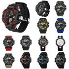 Men Style Digit Electronic Dual Time Zone Waterproof Quartz Business Watches