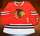 Chicago Blackhawks Adidas Authentic Home NHL Hockey Jersey Size 52