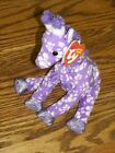 Ty Beanie Baby ~SUNNIE ~Purple Flower Giraffe ~ MINT/MINT TAG ~ RETIRED ~VHTF