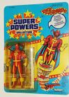 Vintage Super Powers RED TORNADO MOC CANADIAN CANADA Carded Kenner Sealed