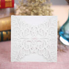 20pcs Romantic White Floral Lace Wedding Invitation Card Stationery Party G1I9