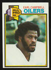 1979 Topps #390 Earl Campbell Rookie