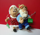 Hallmark Mr. and Mrs. Claus LOT of 3 Hanging Christmas Loose Ornaments