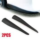 283MM X 505MM CARBON STYLE BUMPER LIP CORNER SIDE SCRACH PROTECTOR STRIP GUARD