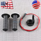 Fit for Honda XR50 CRF Dirt Pit Bike SSR 110cc 125cc Handle Grips Throttle Cable