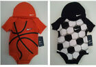 Nike Basketball or Soccer Infant Sports Set 2 Pieces Creeper & Beanie SS Cotton