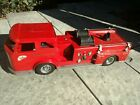 1960s Buddy L Texaco Fire Chief Fire Truck - Very Good Cond - Made in U.S.A.