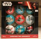 Star Wars Assorted Christmas Ornament by Hallmark Set 9 Pack New