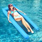 Inflatable Water Hammock Pool Floats Portable Floating Lounger Chair for Adults