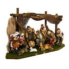 Kurt Adler Nativity Set with 11 Figures and Stable N0284