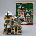 Lemax Rusty Pelican Restaurant Market Plymouth Corners Lighted Building Village