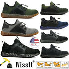 Mens Work Safety Shoes Steel Toe Boots Indestructible Breathable Light Hiker US