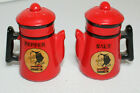 Vintage Mammy Yokum Dogpatch Coffee Pot Salt  Pepper Shakers Made in Japan