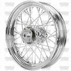 16 x 300 Chrome Front Rear Wheel Harley Shovelhead 1973 1984 3 4 axle chopper