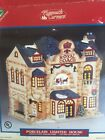 Vintage LEMAX PLYMOUTH CORNERS ROYAL COACH INN Christmas Village