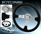 350mm Tracking Racing Drifting Light Weight Steering Wheel Jdm Vip Type R Button
