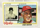 Top 10 Sparky Anderson Baseball Cards 15