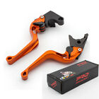 for Aprilia RS125 RS 125 RSV MILLE /R 3D Short Rhombus Camber Brake Clutch Lever