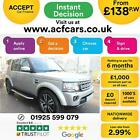 2014 GOLD LAND ROVER DISCOVERY 4 30 SDV6 HSE LUXURY CAR FINANCE FR 138 PW