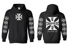 west coast choppers custom bike shop hoodie guildan S M L 1 2 3 4 5 XL new