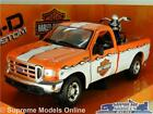 FORD F 350 PICK UP MODEL TRUCK HARLEY DAVIDSON KNUCKLEHEAD BIKE 124 MAISTO K 8