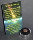 Russian Meteorite with Gem Case Genuine 11 gram Sikhote Alin Meteorite