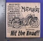 RUBBER STAMP MOTORCYCLE ELEMENTS STAMPENDOUS W097
