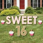 Big Dot Of Happiness Sweet 16 Yard Sign Outdoor Lawn Decorations Happy Birth
