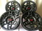17 TRD Pro Black Wheels for Toyota Tacoma FJ Cruiser and 4Runner Set of 4 Rims