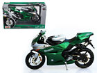 Maisto 1:12 Benelli Tornado Tre 1130 Motorcycle Bike Model Green 31156