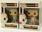 Funko POP Hannibal Lector BLOODY Set 787 & 788 Silence of Lambs NEW MINT In-Hand