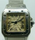 Cartier Santos Galbee Stainless Steel 2423 Ladies Date Automatic New Style Watch
