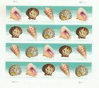 Scott# 5163-5166 SEASHELLS 2017 MNH of 20 SELF-ADH FOREVER STAMPS POSTCARD RATE