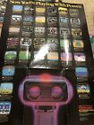 Original Nintendo NES Rob the Robot & Now Your Playing with Power Poster