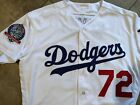 Authentic Game Worn 2018 Los Angeles Dodgers Henry Ramos 60thPatch Jersey Giants