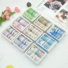 US DIY Floral Washi Sticker Decor Roll Paper Masking Adhesive Tape Crafts Gifts