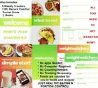 Weight Watchers POINTS PLUS STARTER KIT All U Need Start Now NEW Ships Free