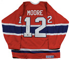 DICKIE MOORE SIGNED Montreal Canadiens CCM® JERSEY W COA authentic autographed
