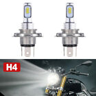 H4 9003 HB2 LED Bulb Hi/Lo Beam HID 6000K White Motorcycle Headlight High Power