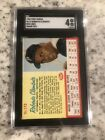 1962 POST SGC 4 ROBERTO CLEMENTE #173 GRADED RED LINES