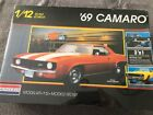 Monogram '69 CAMARO 1/12 Scale Model Kit  ***SEALED***