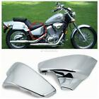 ABS Battery Side Fairing Cover For Honda Shadow VLX Deluxe VT600C 1999-2007 06