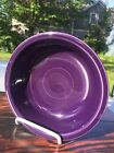 FIESTA WARE Homer Laughlin Co. plum dark purple 7