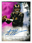 2015 Topps Inception Football Cards 21