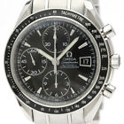 Polished OMEGA Speedmaster Date Steel Automatic Mens Watch 321050 BF500353